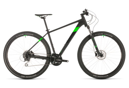Picture of CUBE AIM RACE BLACK´N´FLASHGREEN 2020