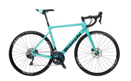 Picture of BIANCHI SPRINT ULTEGRA DISC 11SP 1D-CK16/Black Glossy