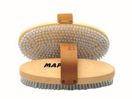 Picture of ČETKA MAPLUS MANUAL OVAL HARD NYLON MTO125
