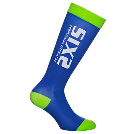 Picture of ČARAPE SIXS RECOVERY GREEN/BLUE