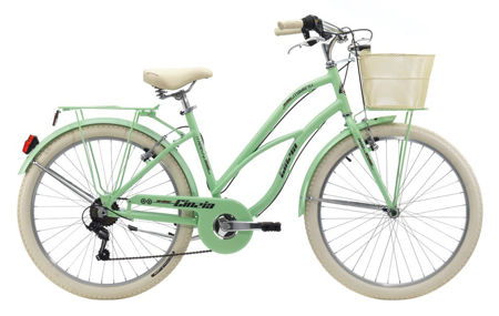 """Picture of Cinzia 26"""" MOODY LADY 6B Light Green"""