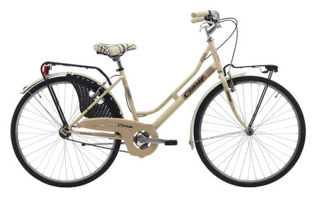 "Picture of Cinzia 26"" FRIENDLY LADY Single speed V-Brake Cream"