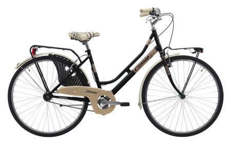 "Picture of Cinzia 26"" FRIENDLY LADY Single speed V-Brake Black"