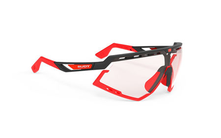 Picture of NAOČALE RUDY PROJECT DEFENDER IMPACTX PHOTOCHROMIC 2RED/BLACK MATTE/RED FLUO