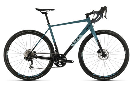 Picture of CUBE NUROAD RACE BLACK´N´GREYBLUE 2020