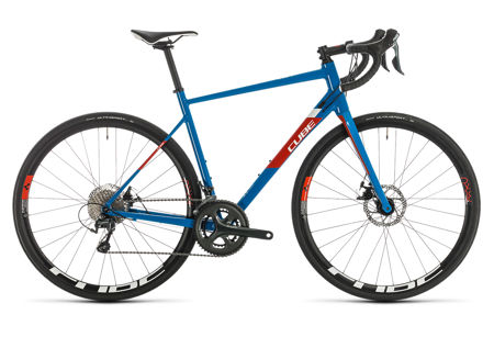 Picture of CUBE ATTAIN RACE BLUE´N´RED 2020