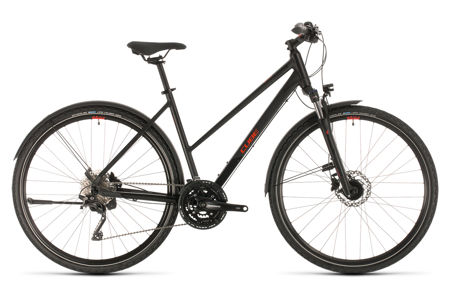 Picture of CUBE NATURE EXC ALLROAD BLACK´N´RED TRAPEZE 2020