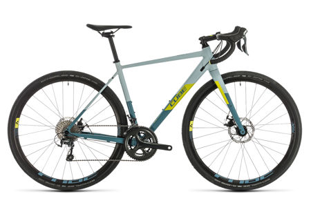 Picture of CUBE NUROAD WS GREYBLUE´N´LIME 2020