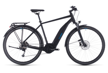 Picture of CUBE TOURING HYBRID ONE 400 BLACK´N´BLUE 2020