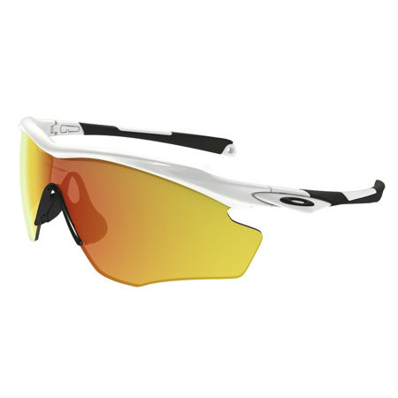 Picture of NAOČALE OAKLEY 9343 05 M2 FRAME XL POLISHED WHITE/FIRE IRIDIUM
