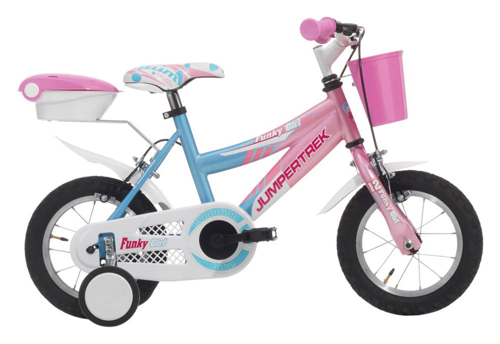 """Picture of JUMPERTREK 12"""" FUNKY GIRL PINK/WHITE"""