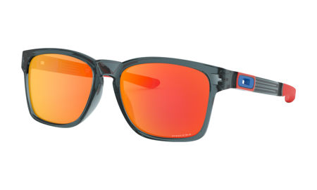 Picture of NAOČALE OAKLEY 9272 28 CATALYST CRYSTAL BLACK/PRIZM RUBY