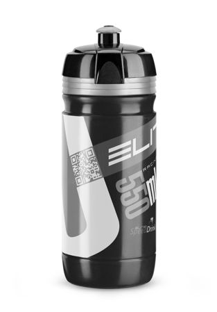 Picture of Bidon CORSA 550ml Black Silver Logo Elite