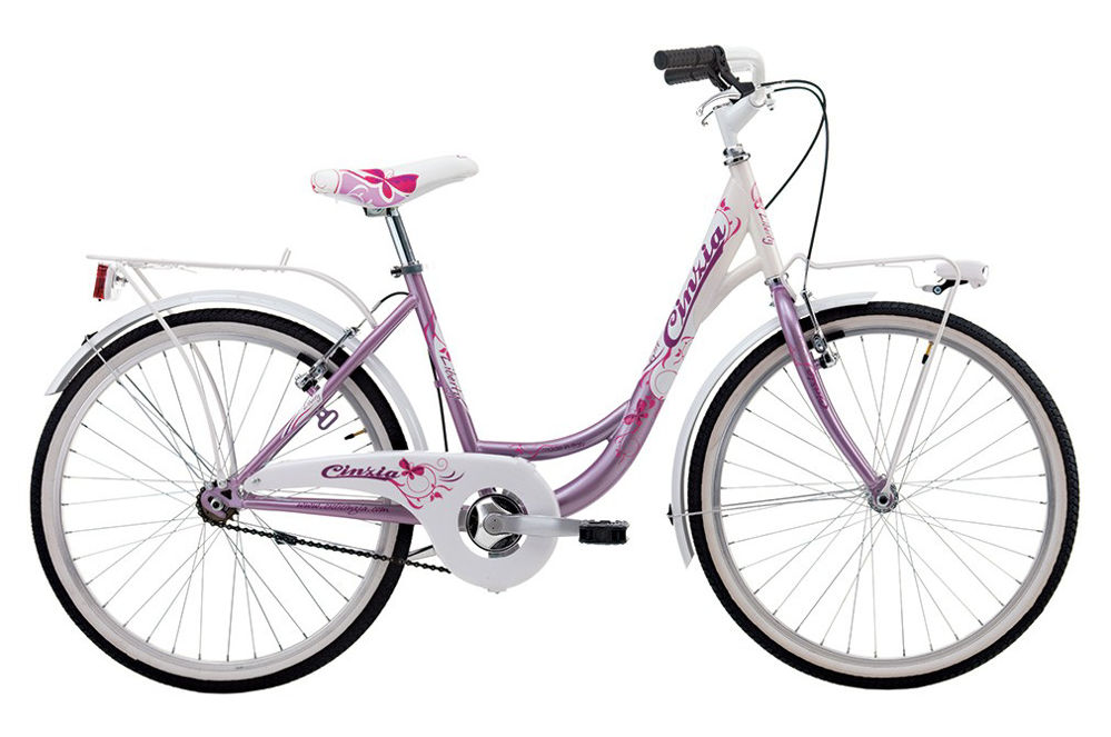 """Picture of Cinzia 24"""" LIBERTY CITY GIRL Pearl Pink/White"""