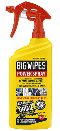Picture of Big Wipes POWER SPRAY 1 LIT