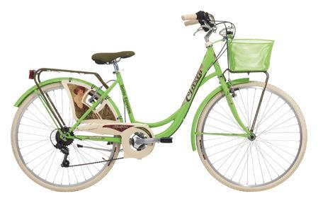 "Picture of Cinzia 26"" BELLE EPOQUE Lady 6B V-Brake Apple green"