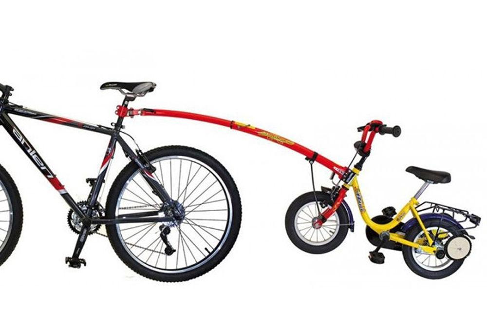 """Picture of Poluga za vuču dječjeg bicikla Trail Gator 12""""-20"""" Red"""