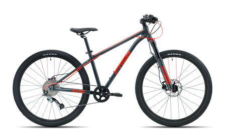 Picture of FROG MTB 69 METALLIC GREY/NEON RED