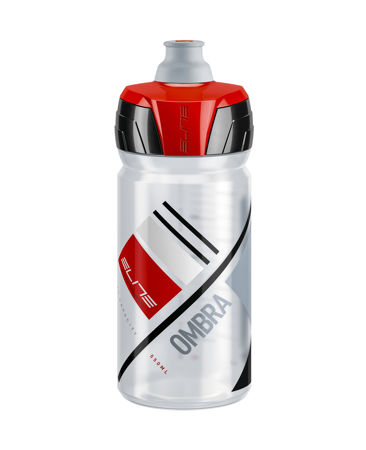 Picture of Bidon OMBRA 550ml Clear Red Logo Elite