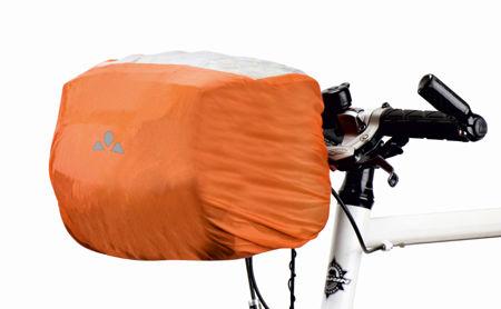 Picture of Navlaka za torbu Vaude RAINCOVER FOR HANDLE BAR BAG Orange