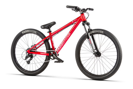 Picture of Radio 2020 FIEND red metallic 22.3'