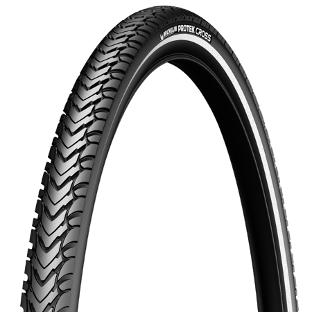Picture of V. guma 700X40C Michelin PROTEK CROSS Blk/Reflex