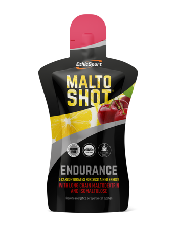 Picture of ETHIC SPORT GEL MALTO SHOT ENDURANCE LIMONE/CHERRY 50ml