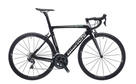 Picture of BIANCHI ARIA ULTEGRA 52/36 VISION TEAM 35 COMP A1-BLACK/SILVER