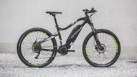 Picture of HaiBike HardSeven 1.0 titan/lime 2020