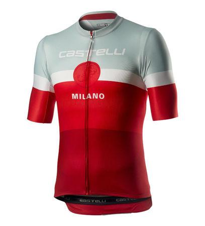 Picture of MAJICA CASTELLI K/R MILANO RED