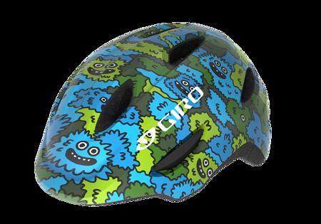 Picture of KACIGA GIRO SCAMP BLUE/GREEN CAMO