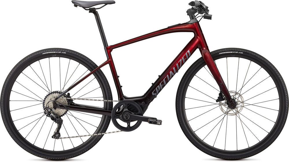 Picture of Specialized Turbo Vado SL 4.0 Red Tint 2020