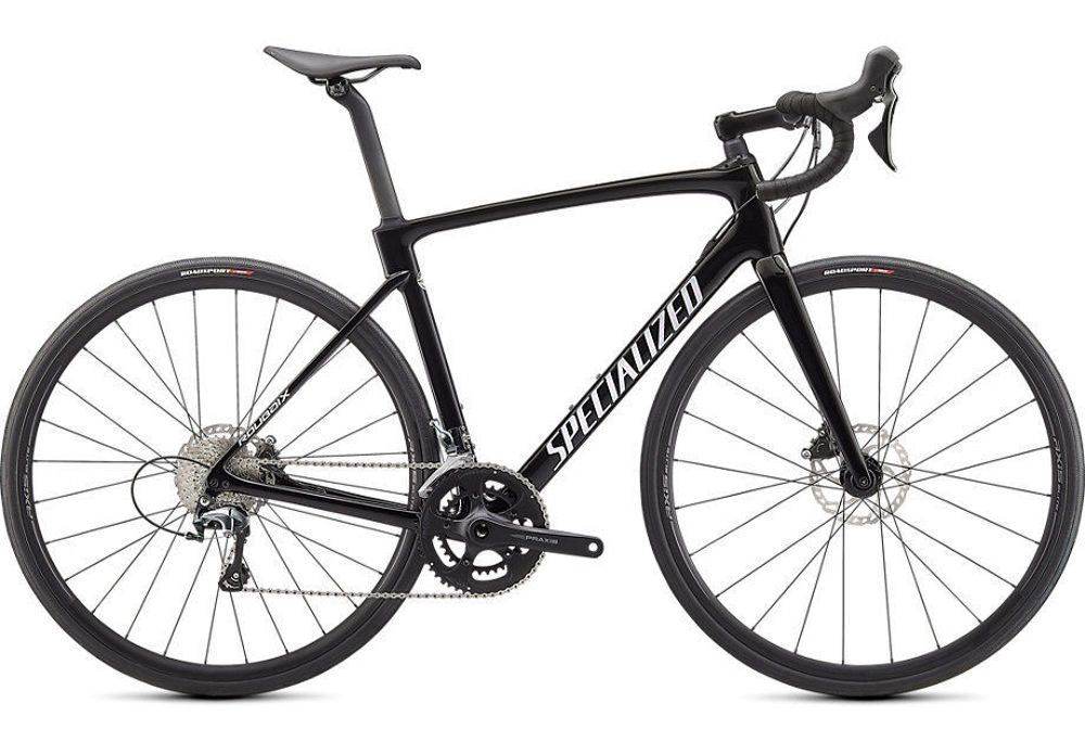 Picture of Specialized Roubaix 2021 Gloss Tarmac Black/Abalone