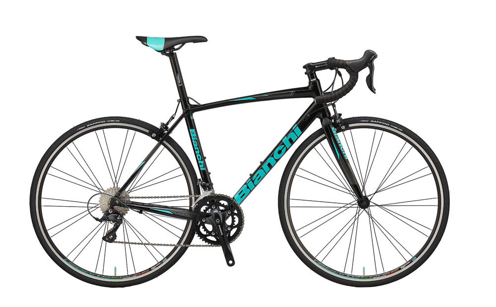 Picture of BIANCHI NIRONE 7 ALU CLARIS 8S ALCB 5F-BLACK/CK16