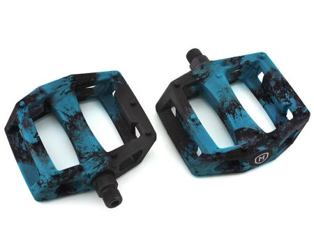 Picture of Mission IMPULSE Pedals blue plastic/steel 9/16''