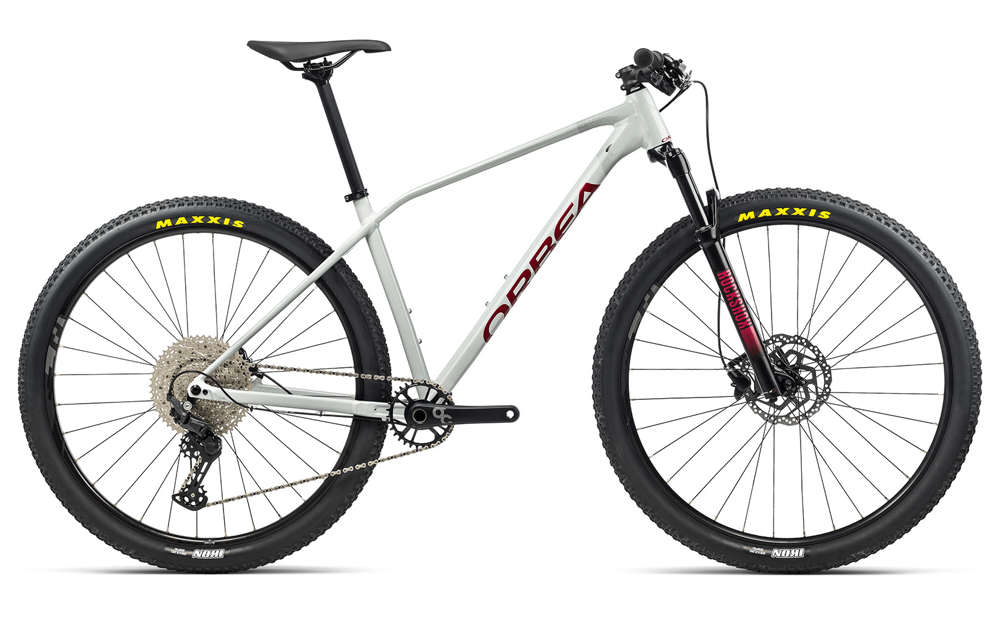 Picture of ORBEA ALMA H50 WHITE-GREY-RED 2021