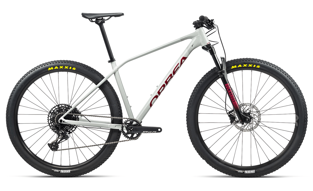 Picture of ORBEA ALMA H10-EAGLE WHITE-GREY-RED 2021