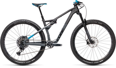Picture of CUBE AMS 100 C:68 RACE 29 CARBON´N´BLUE 2021