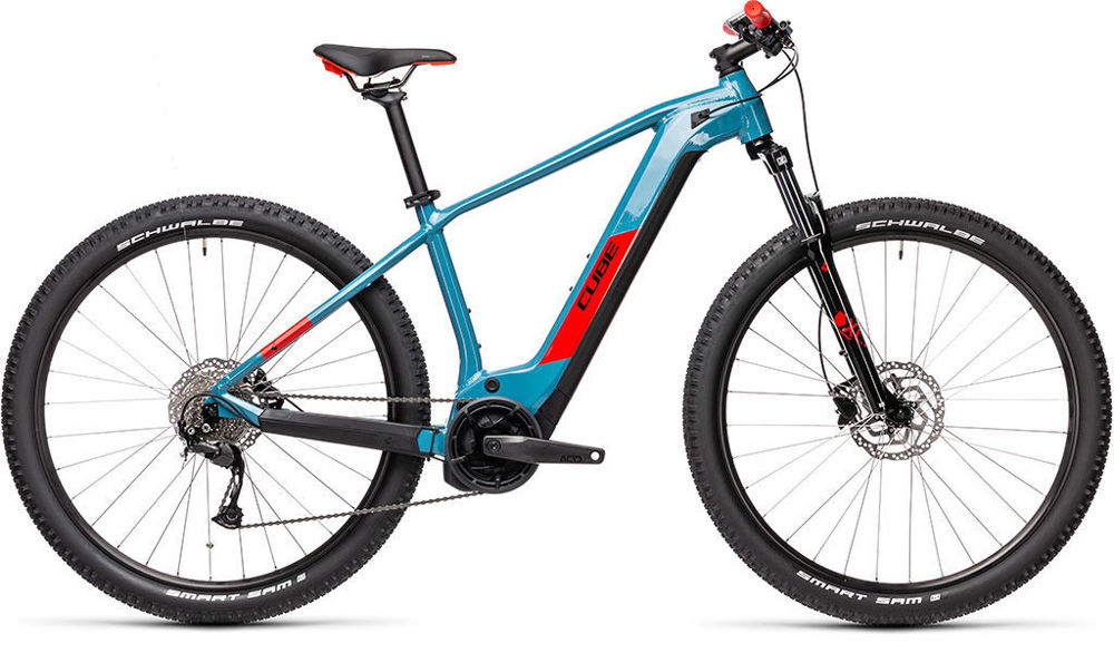 Picture of CUBE REACTION HYBRID PRO 625 29 ALLROAD PETROL´N´ORANGE 2021