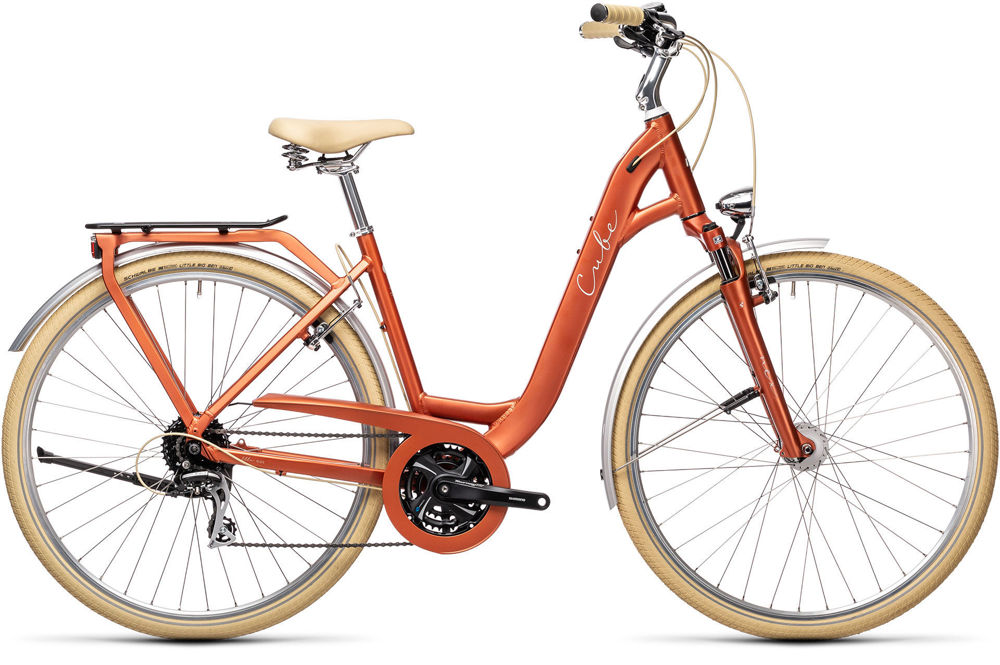 Picture of CUBE ELLA RIDE RED´N´GREY 2021 EASY ENTRY
