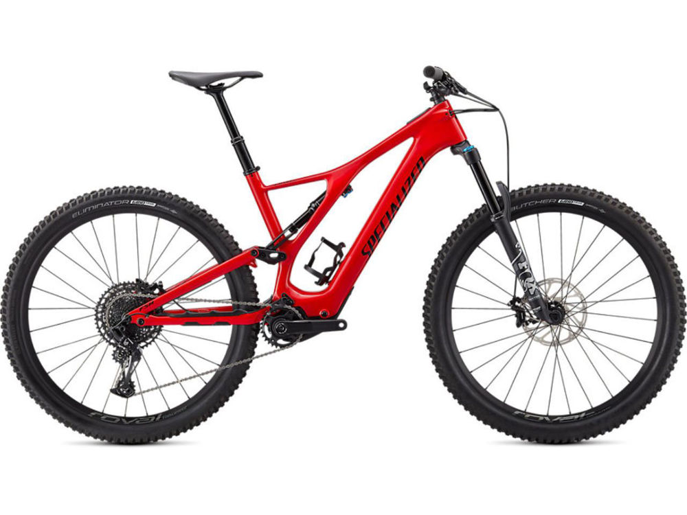 Picture of Specialized TURBO LEVO SL COMP CARBON 2021 Flo Red