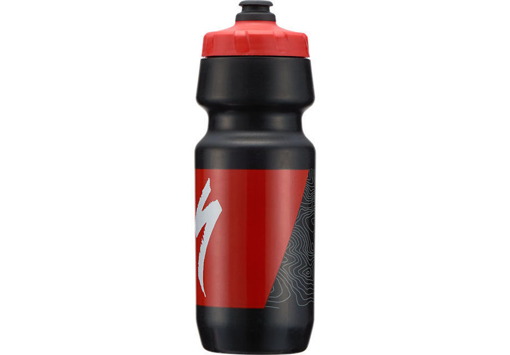 Picture of Bidon Specialized BIG MOUTH 24OZ Black/Red Topo