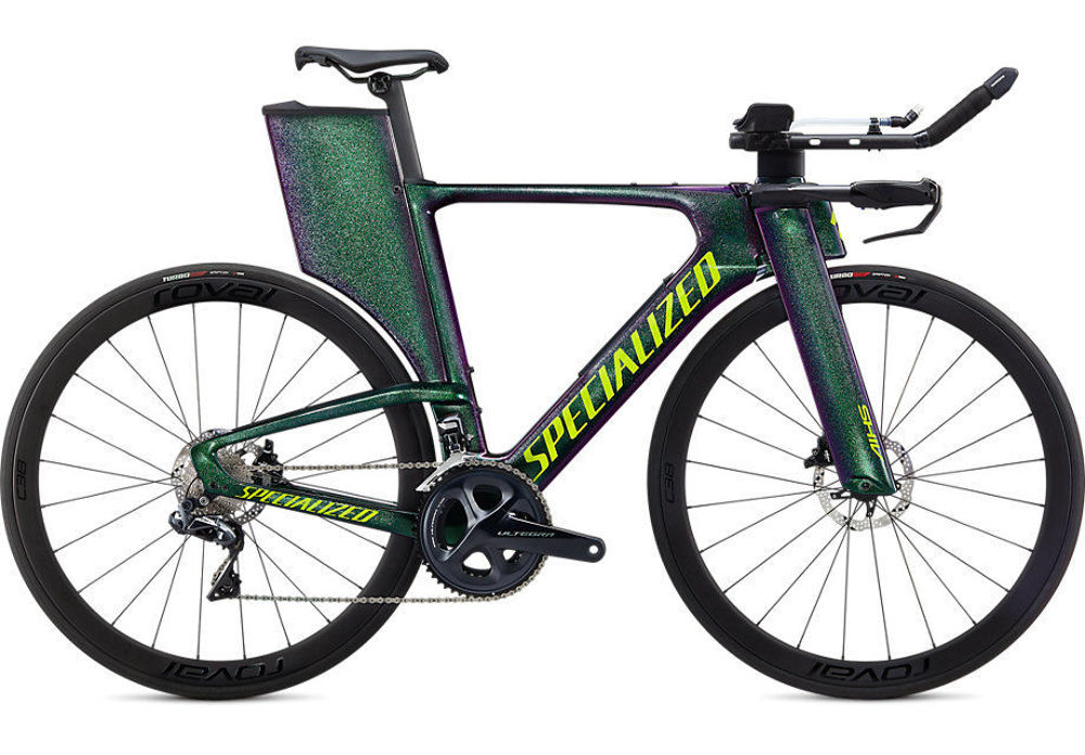 Picture of SPECIALIZED SHIV EXPERT DISC 2020 Gloss Green Chameleon/Hyper Green