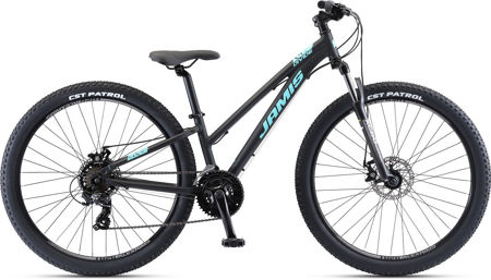 """Picture of Jamis Divide Step-Over 27.5"""" Black 2021."""