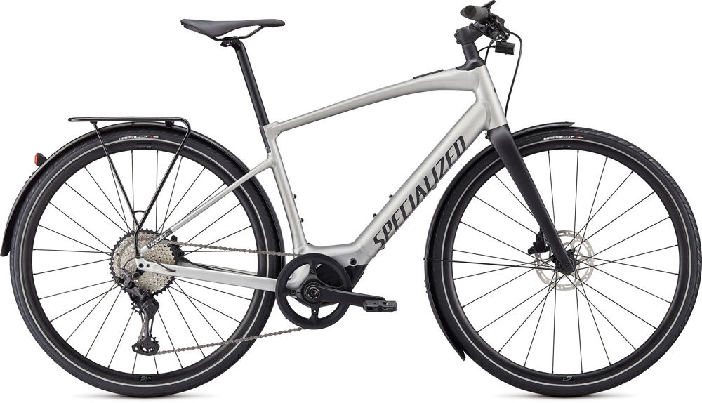 Picture of Specialized TURBO VADO SL 5.0 EQ Brushed Aluminum 2021