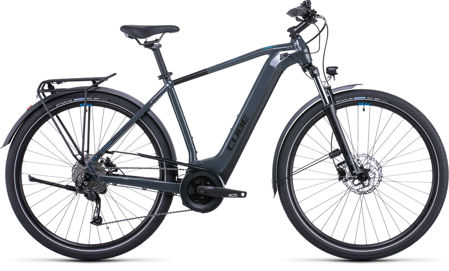 Picture of CUBE TOURING HYBRID ONE 400 GREY´N´BLUE 2022